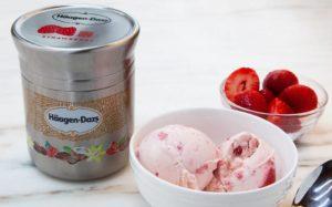 Новая упаковка из алюминия для мороженого Häagen-Dazs