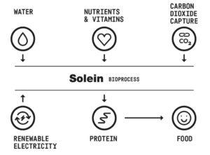 Технология Solein - инновационный белок Solar Foods