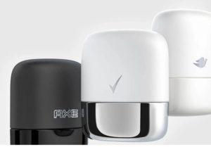 Дезодоранты Dove, Degree и Axe в новой дозаправляемой упаковке