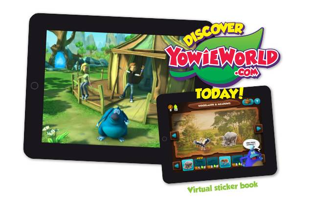 Шоколад и виртуальное царство животных Yowie