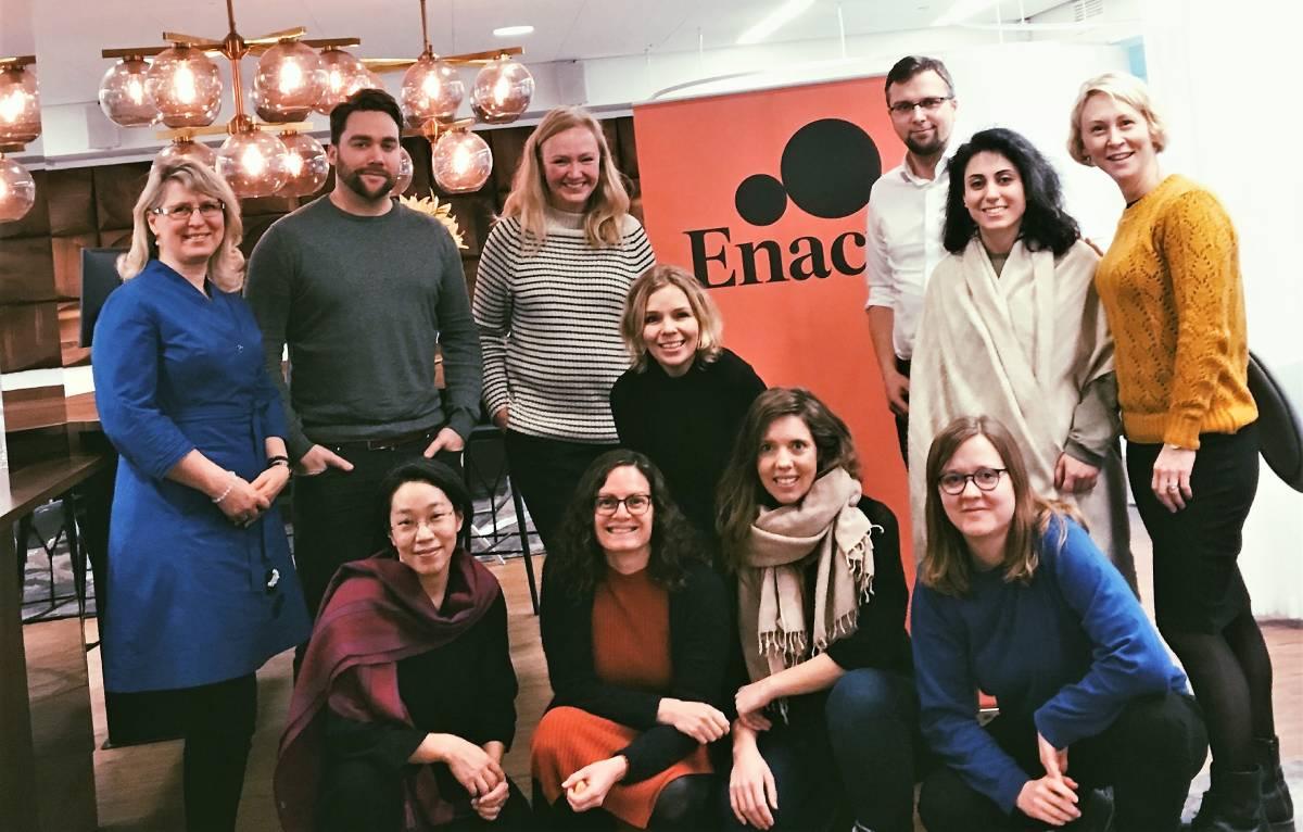 Объединение компаний Sustinere и Enact