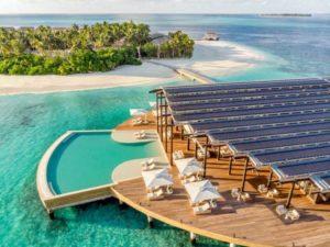 Новый роскошный курорт на Мальдивах