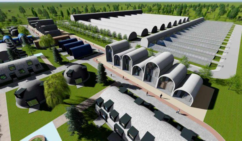 Проект города по переработке мусора в энергию