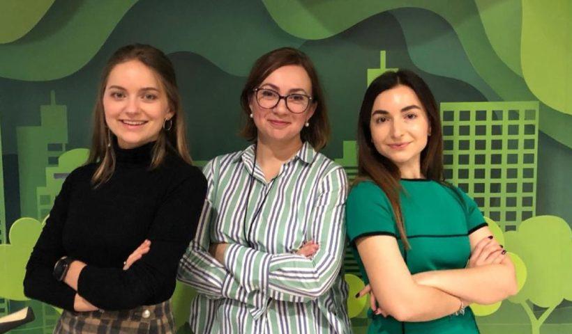Спикеры марафона устойчивого развития: Клавдия Шевелюк, Юлия Тахтарова, Карина Корейба