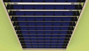 Жалюзи с солнечными панелями