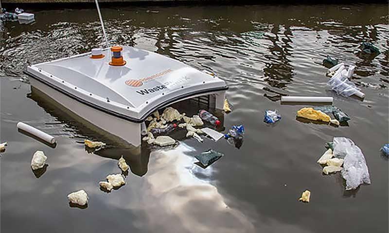 робот-акула WasteShark