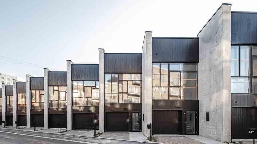 Квартал в Копенгагене из переработанных материалов