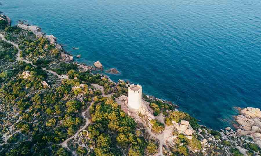 остров Корсика во Франции