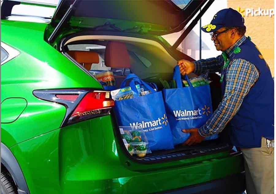 Сеть магазинов Walmart