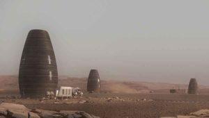 Жилье будущего на Марсе