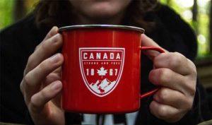 Кружка с символикой Канады