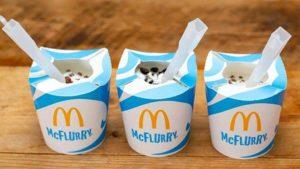 Мороженое McDonald's