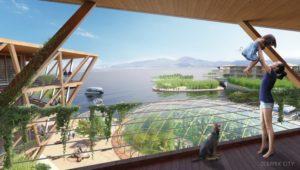 Проект плавающих городов OCEANIX / BIG-Bjarke Ingels Group
