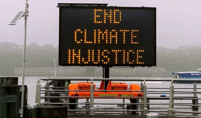 Призыв противостоять климатическим изменениям