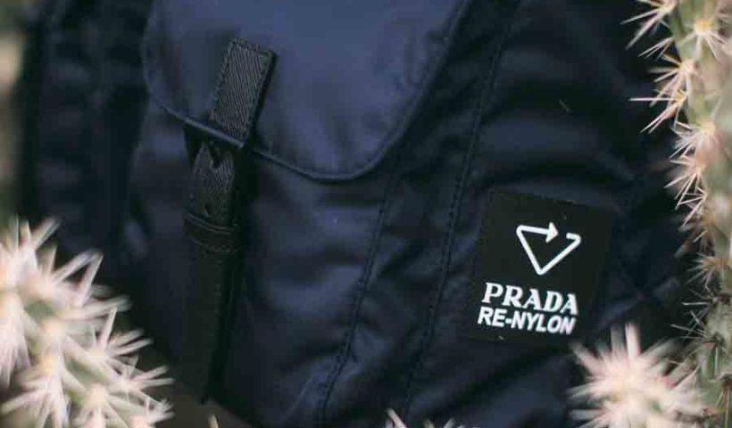 Сумки и рюкзаки Prada из переработанного нейлона