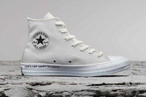 Новые кеды Converse из переработанных материалов