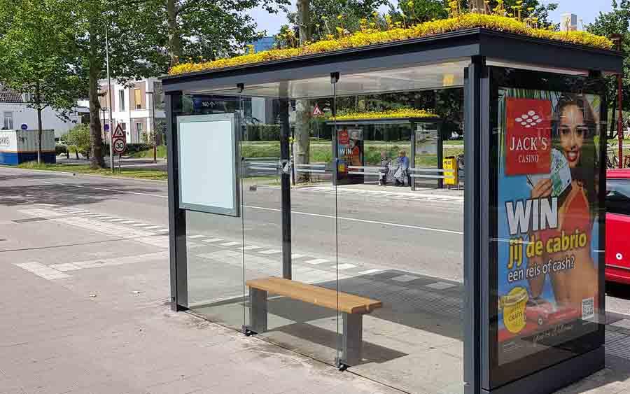 Автобусные эко-остановки в Утрехте