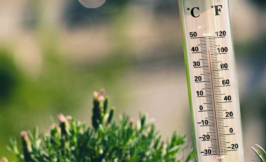 глобальное потепление и температурный рекорд на термометре