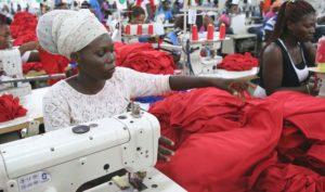 Швейная фабрика в Африке