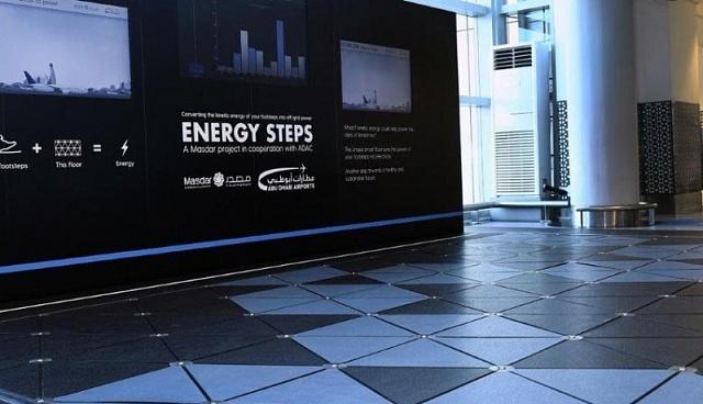 Инновационный пешеходный переход в Абу-Даби, который превращает шаги посетителей в автономное электричество