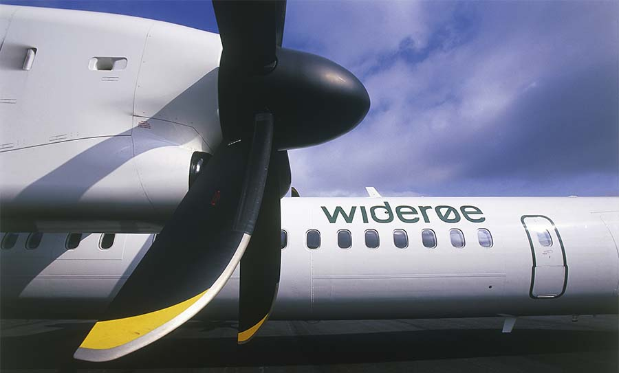 Норвежская авиакомпания Wideroe