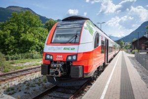Эко-поезд Cityjet в Австрии