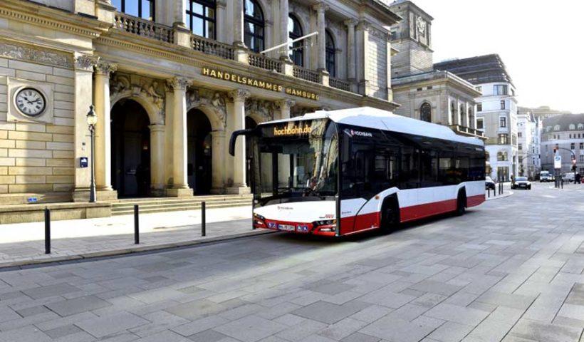 электрические автобусы в Гамбурге