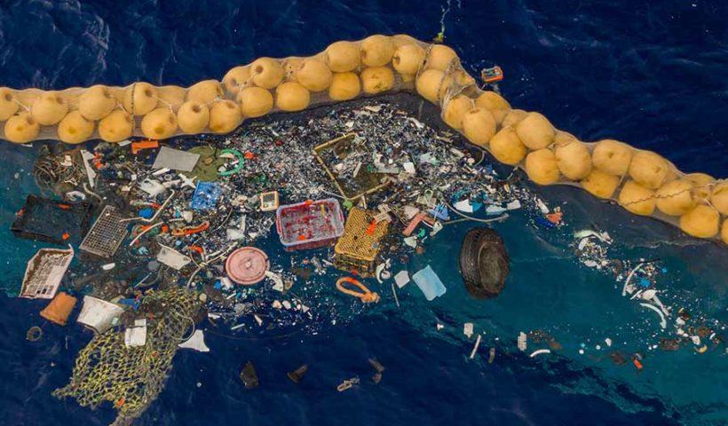пристрій для збору сміття в Тихому океані