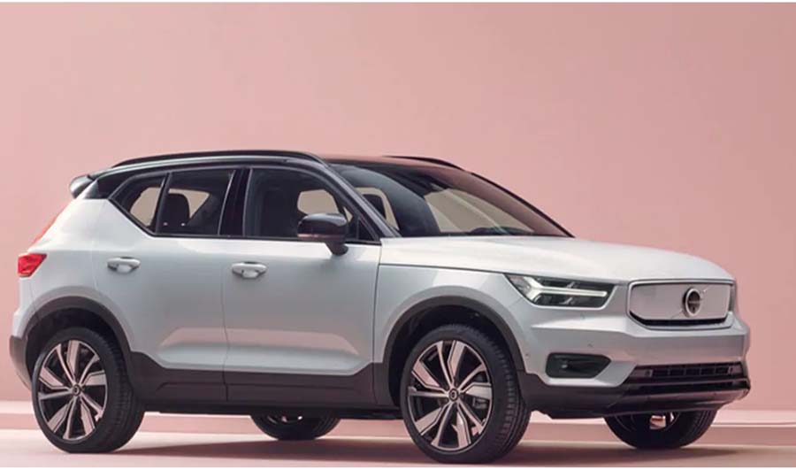 electric Volvo SUV