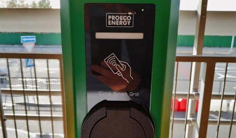зарядка для электромобилей в аэропорту Борисполь